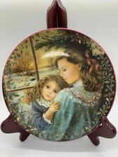 Chantal Poulin A Sisters Warmth Collectors Plate 3rd In Kindred Moments Series