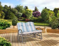 Garden Recliner Chair Double Rocker Outdoor 2 seater Lounge Sun Garden Patio