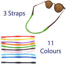 3 Glasses Straps For Kids, Sports Band Cord Holder For Glasses and Eyewear