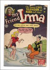 MY FRIEND IRMA #23 [1952 GD] FISHING COVER!  FRAZETTA AD PAGE!