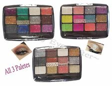 Beauty Treats 12 Colors Glitter Palette - GEMSTONE