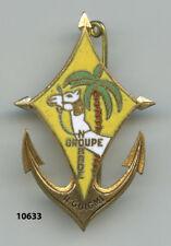 Insigne troupes Coloniales, Gpe.  Nomade de N'GUIGMI