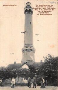 Osternothhafen Leuchtturm von der Hafenseite aus feldpgl1913 161.022