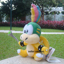 "Super Mario Bros 3 Koopalings Lemmy Koopa 5.5"" Bowser Plush Toy Nintendo Doll"