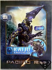 "KAIJU KNIFEHEAD Pacific Rim 18"" inch 1/4 Scale Movie Figure LED Neca 2014"