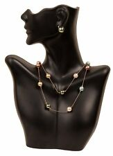 Necklace Display Earring Bust Decor Jewelry Holder Stand Half Body Mannequin New