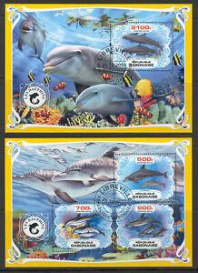 SVVGTA C75 limited 2019-2020 Marine fauna Dolphins 2 sheets