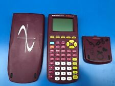 TI 82 stats.fr calculatrice graphique scientifique Texas Instruments rouge N)2