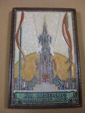 PORCELEYNE FLES DELFT TILE 1923