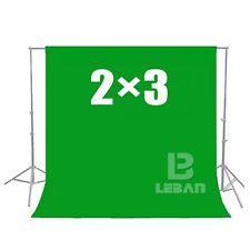 Green Screen Chroma key 2 x 3M Background Backdrop for Studio Photo lighting