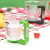 Measuring Cup Kitchen Scale Digital Cup Weight Scale Electronic Tools Scales Red