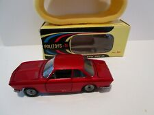Vintage - 1/43 Politoys - BMW 2000 CS - #546 - Red -  Box - Made in Italy