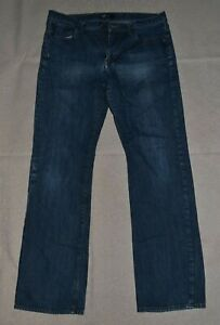 GAP mens denim blue jeans, size 36 x 36 boot cut
