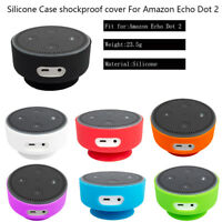 Silicone Protective Case Shockproof Cover Sleeve Skin For Amazon Echo Dot 2 2nd