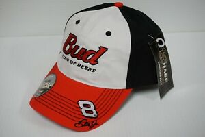 "Dale Earnhardt Jr. #8 BUD Budweiser ""King of Beers"" Official Pit Cap - Hat"
