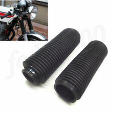 2x 37MM Motorcycle Fork Rubber Boot Universal Shock Damper Dust Cover Pit Dirt