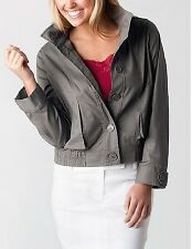 Plus Size Loose Fitting Light Weight Bomber Style Taupe Jacket Size 24 Free Post
