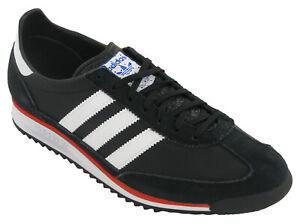 Adidas Mens SL 72 Originals Casual Classic 3 Stripe Lace Up Trainers FW3272