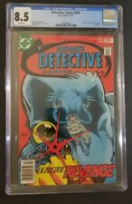 Detective Comics #474 CGC 8.5 WH, Key 1st Appearance Deadshot, DC Comics Batman