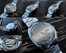 ORIENT Calendar Automatic Mechanical Men's Wrist Watch Day/Date Japan Excellent
