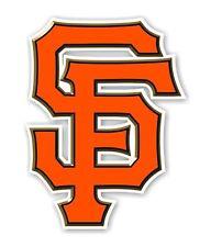"San Francisco Giants "" SF"" (Orange) Decal / Sticker Die cut"