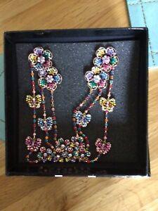 Beautiful Butler & Wilson Butterfly Earrings