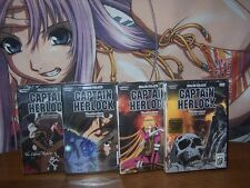 Space Pirate Captain Herlock Vol 1,2,3,4 Complete Collection BRAND NEW Anime DVD