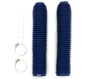 Honda Fork Boots Gaiters - CR125 CR250 XR250 XR400 CR500 XR600R XR650L - Blue