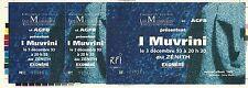 RARE / TICKET BILLET CONCERT LIVE - I MUVRINI ( FRANCE CORSE ) A PARIS 1993