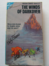 KELLY FREAS COVER SIGNED PB BOOK WINDS OF DARKOVER MARION Z. BRADLEY 1970 ACE s