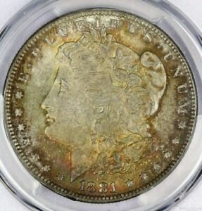1881-O 1881 Morgan Dollar $1 PCGS MS64 CAC Beautifully toned!