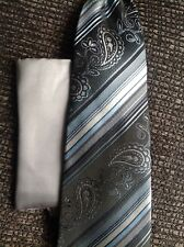 GIFT SET, TIE AND POCKET SQUARE 100% SILK*NEW, SEALED *MADE IN ITALY*$99