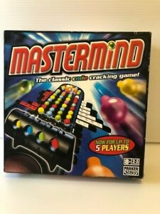 Mastermind Board Game The Classic Code Breaking Game Hasbro Parker 2006