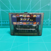 Super 1200 in 1 Game 16 bit SNES USA/EUR/Japan version console! SD2Pro +16G Gift