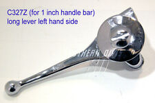 MAGNETE/choke Long LEVER LEFT 1 inch bar NORTON BSA Ariel NSU SUNBEAM Rudge AJS