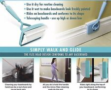 Baseboard Buddy Walk Extendable Microfiber Dust Cleaning Product Tool Home Bar