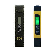 Water Quality Digital Test Meter Tool TDS & EC Temperature 0-9990ppm Measurement