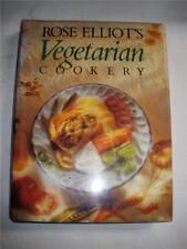 ROSE ELLIOT'S VEGETARIAN COOKERY COOKBOOK HARDCOVER BOOK