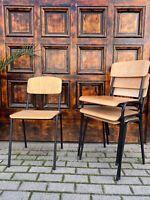 1/102 Stapelstühle Stuhl Industrie Design Loft Cafe Bar Bistro SALE
