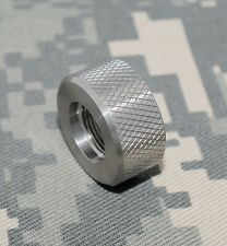Ruger 10/22 Bull Barrel Thread Protector Knurled .920 dia. Stainless 1/2 x 28