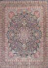 Semi-Antique Vegetable Dye Floral Oriental Area Rug Hand-knotted Wool 10x12 ft