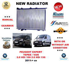 FOR PEUGEOT EXPERT TEPEE BOX VAN 2.0 HDi 100 130 2011> NEW RADIATOR OE QUALITY