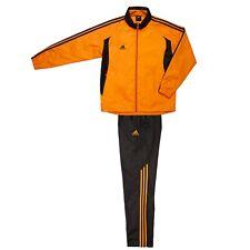 Adidas Men Woven Training Suit/Uniform/Wind Breaker Jacket+Pants/Orange