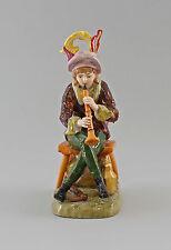 Figurine en Porcelaine musicien de mendiants avec Flûte Ernst Bohne & Fils H21cm
