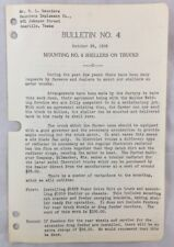 1938 Antique John Deere Bulletin / Mounting No 6 Shellers On Trucks