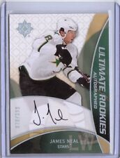 08-09 Ultimate James Neal Auto Rookie Card RC #73 Mint Rare /399