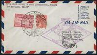 Zeppelin Brasilien 1930 Südamerikafahrt Recife Sevilla Barcelona Si 59 B /414