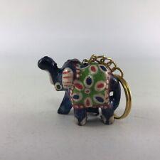 Handmade resin elephant lucky key chain gift Thailand souvenir wedding party car