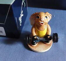 Pendelfin Precious Weight lifter Olympics