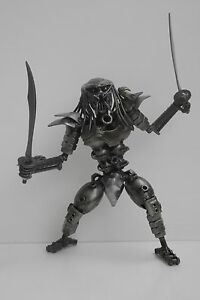 METAL SCULPTURE Predator Scrap Metal Sculpture Art Handmade Gift Awesome Gifts